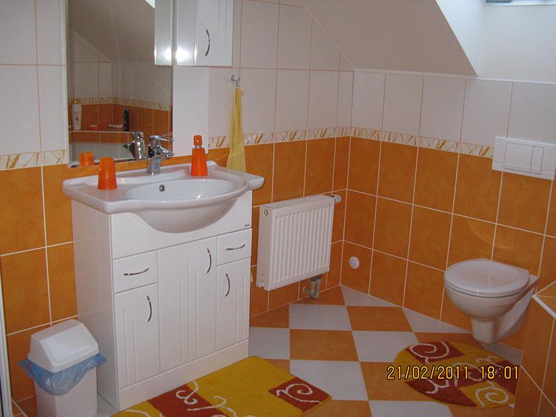 rekonstrukce koupelny v podkroví